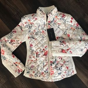 Quilted Zara fitted jacket